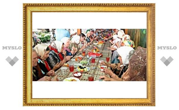 Православные туляки празднуют Покров