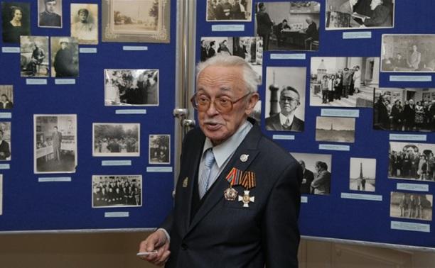 Известный тульский краевед Вячеслав Боть отметил 85-летие