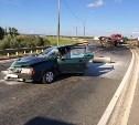 При столкновении грузовика и «девятки» на трассе «Крым» пострадали несколько человек