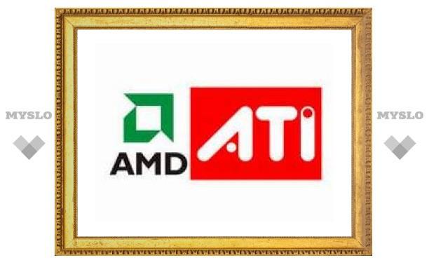 AMD создала первый чипсет со встроенным видео от ATI