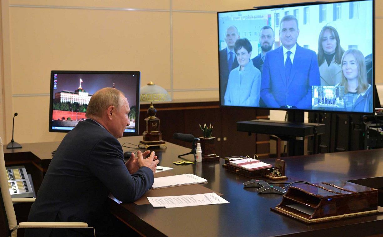Школьница из Ясной Поляны рассказала Владимиру Путину о своей любви к Толстому