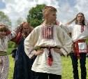 В Ясной Поляне прошел фестиваль молодежных фольклорных ансамблей «Молодо-зелено»