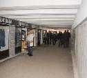 В Туле на улице Мосина ремонтируют подземный переход