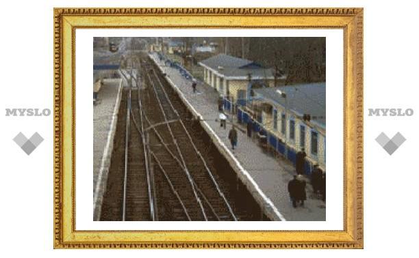 В Новомосковске обрушилась железнодорожная платформа