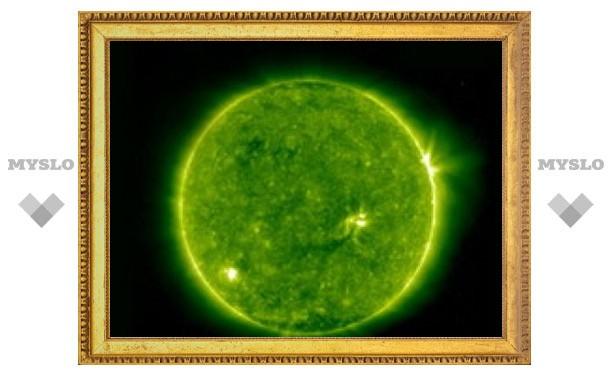 Южное полушарие Солнца проявило признаки активности
