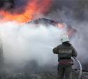Житель п. Барсуки сгорел в кунге рано утром
