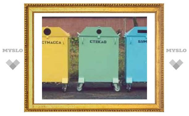 В Туле устанавливают новые мусорные контейнеры