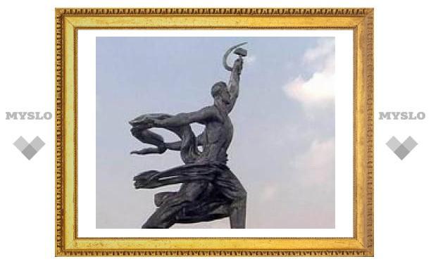 """Монумент """"Рабочий и колхозница"""" отреставрируют к концу года"""