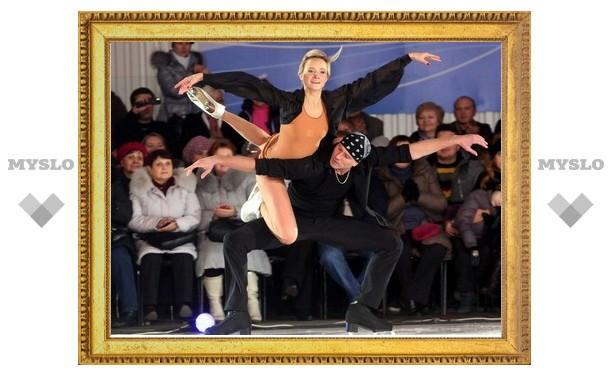 В Новомосковске лучшие фигуристы планеты показали шоу «Профессионалы»
