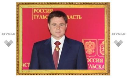 Владимир Груздев поздравил туляков с Рождеством