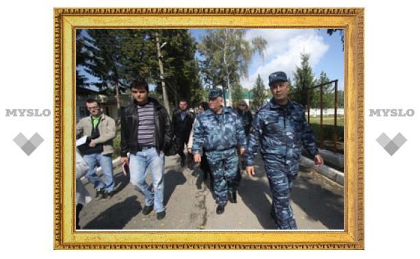 В ходе бунта в Алексинской колонии серьезно пострадал сотрудник УФСИН
