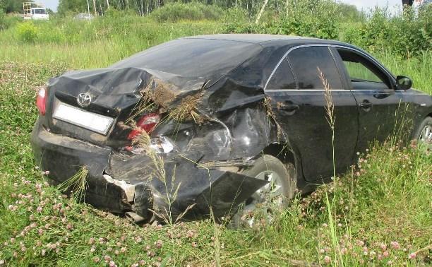 Из-за пьяного водителя пострадал пассажир легковушки