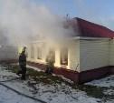 Из горящего дома в Туле пожарные спасли пенсионерку