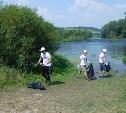 На Красивой Мече прошла экологическая акция «Вода России. Чистый исток»