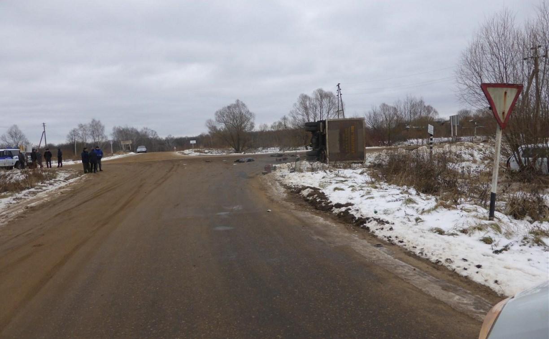 В Тульской области за три дня в авариях погибли три человека