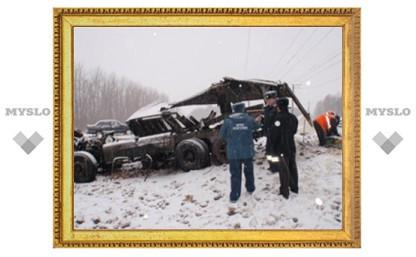 В столкновении КамАЗа и пассажирского поезда в Тульской области виноват водитель грузовика?