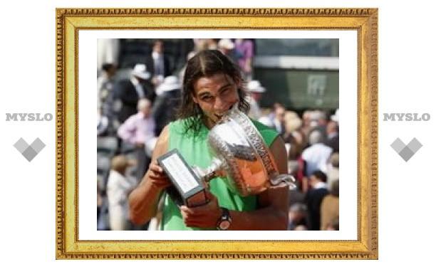 Рафаэль Надаль четвертый раз подряд выиграл Roland Garros