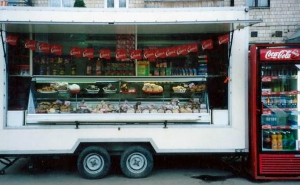 В России поддержат  «магазины на колёсах»