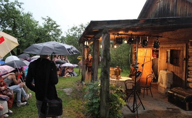 Дождь помешал открытию фестиваля «Сад гениев» в Ясной Поляне