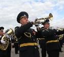 По праздничной Туле прошли духовые оркестры