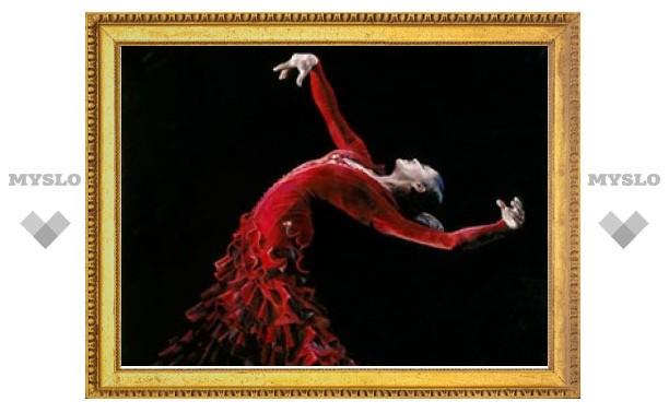 Тульские танцоры фламенко выступают на фестивале в Твери