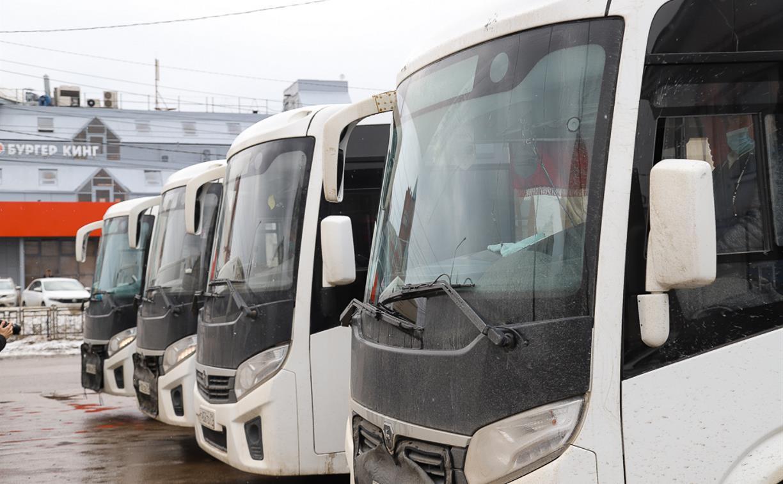 На 11 тульских маршрутах появились новые автобусы