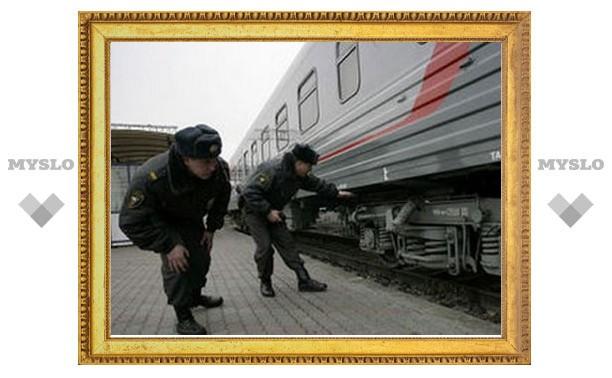 В поезде на тульском вокзале искали террориста