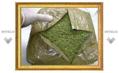 Под Тулой изъята крупная партия марихуаны