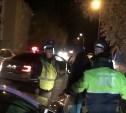 В Кимовске сотрудники ДПС устроили погоню за пьяным водителем