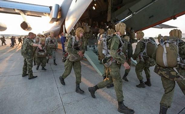 Тульские десантники «захватили» аэродром под Рязанью