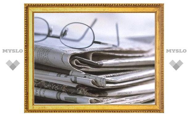 Районные газеты Тульской области объединят в один «Издательский дом»