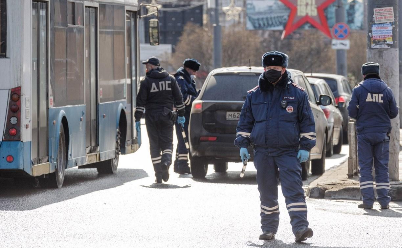 В Тульской области полицейские контролируют въезд граждан из других регионов