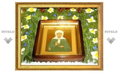 В Туле находится ковчег с мощами Матроны Московской