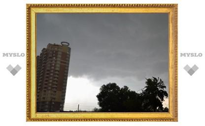На Тулу обрушился ураган