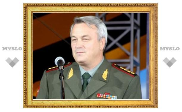 Тулу тайно посетил заместитель министра обороны