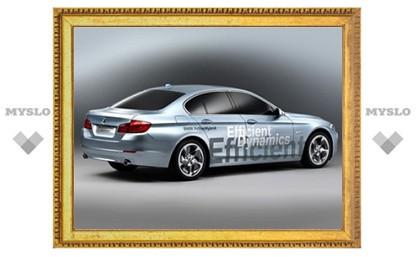 """BMW готовит гибридную версию новой """"пятерки"""""""