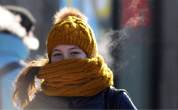 11 января в Тульской области ожидается сильный мороз и гололедица