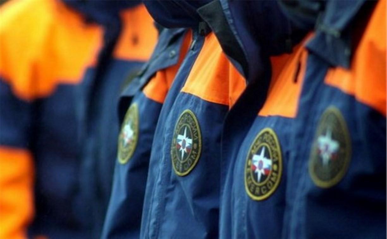 Владимир Груздев поздравил тульских спасателей с 25-летием МЧС России