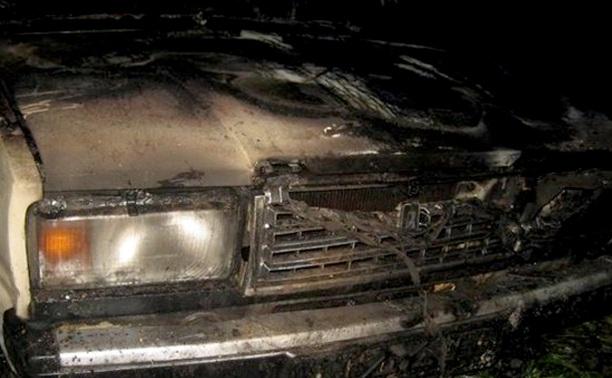 На Косой Горе сгорели сразу четыре автомобиля