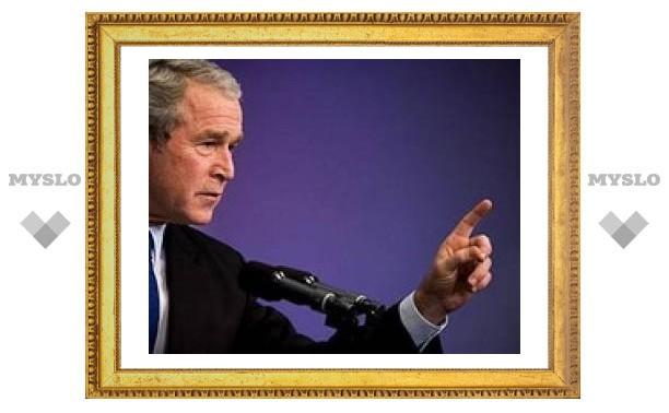 Джордж Буш подписал закон о прослушивании сотовых телефонов