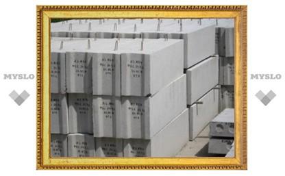 Жительница Узловского района украла 52 фундаментных блока