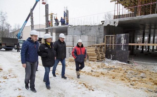 На Калужском шоссе построят ледовый дворец на 6,5 тысяч зрителей