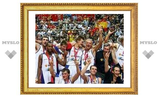Сборная России стала чемпионом Европы по баскетболу