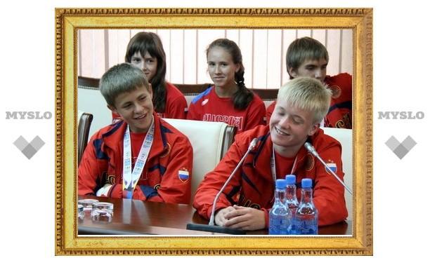 В Туле чествовали юных спортсменов