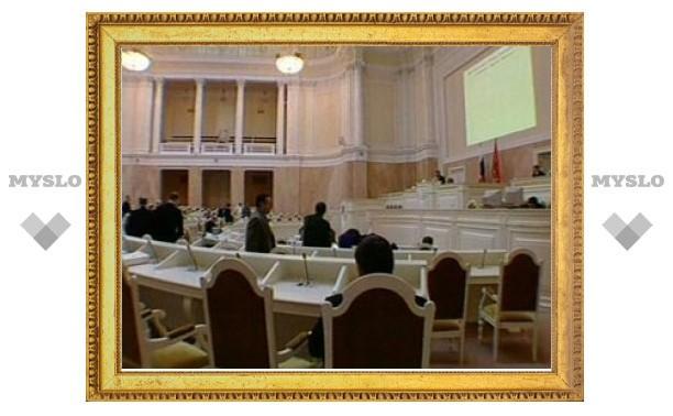 Петербургские депутаты изгнали из парламента привидение