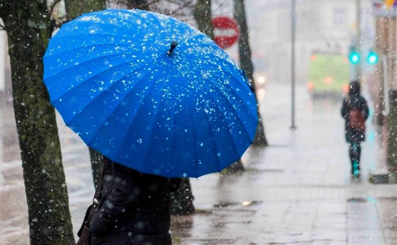 Погода в Туле 22 марта: дождь со снегом, порывистый ветер и до +7 градусов