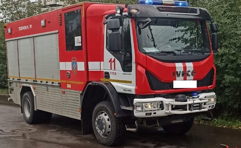 При пожаре на ул. Горняцкой в Туле погибла пенсионерка