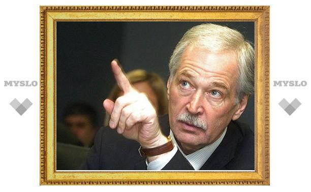 Борис Грызлов свяжет свою карьеру с Тульской областью