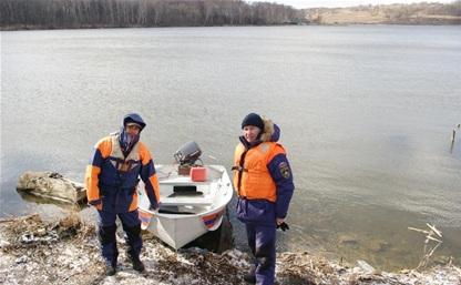 Инспекторы ГИМС начали патрулировать водоемы Тульской области