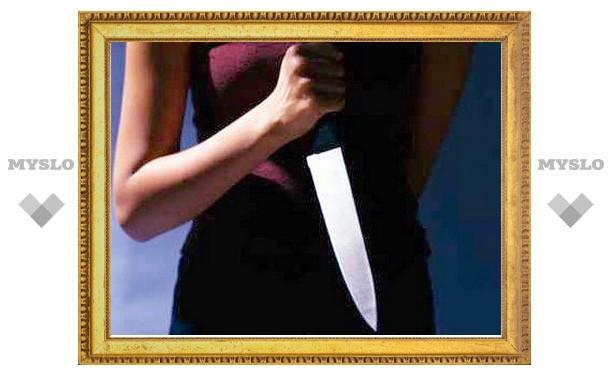 Под Тулой женщина зарезала своего сожителя